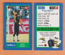 South African Brian Baloyi Kaizer Chiefs 16